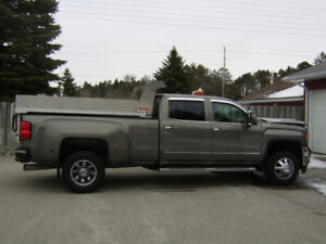 2017 GMC 3500 with dump box - LIKE NEW, only 14,500km!