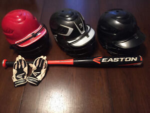 Youth fastpitch softball and baseball gear