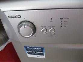 BEKO Silver Dishwasher Freestanding or Under Counter