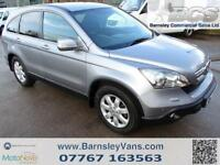2007 07 HONDA CR-V 2.2 CDTI ES IN SILVER 2 OWNERS FROM NEW