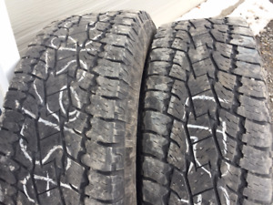 2x LT 275/65R20 10ply  Toyo Open Country A/T2
