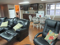 3 bedroom fully furnished basement for rent 10 km from Sussex