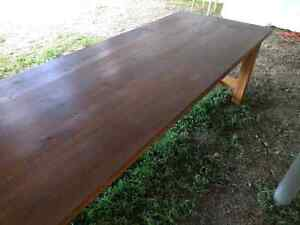 Huge harvest style table. 8ft long.  Peterborough Peterborough Area image 3
