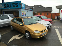 2001 Citroen Saxo 1.1i Desire 3 Door Hatchback