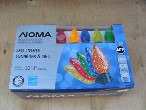 Brand New ( 50 ) Noma -  MULTI Colored C9 LED lights