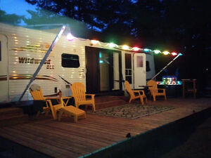 Park Model camper with largest bunk room < 1hr from Ottawa