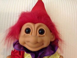 Vintage 70's Troll Clown Doll London Ontario image 2