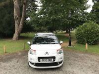 2012 Citroen C3 Picasso 1.6HDi 8v Exclusive 5 Door MPV White (FINANCE AVAILBLE)