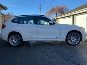 BMW X1 35i 2014, white,M package,powerful!