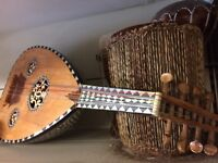 Old Egyptian Oud 10 String Lute