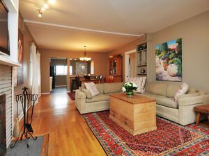 3 BED / 2 BATH UPPER LEVEL VANCOUVER WEST HOUSE FOR RENT - ARBUT