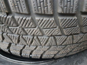 Set of winter tires great  condition