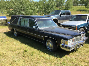 1978 Cadillac Fleetwood Hearse