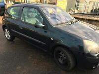 2004 Renault Clio 1.2 16v ( a/c ) Dynamique - SPARE OR REPAIRS