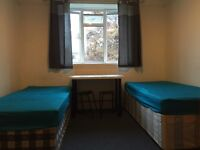 ---twin room in Parsons Green---