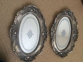 Decorative trays used for wedding centrepieces