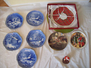 Collector Plates, Christmas Plates + Hanging Decorative Plates*