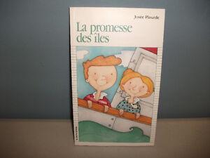 Collection la Courte Échelle La Promesse des Iles.