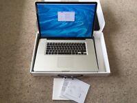 """17"""", i5 2.53Ghz, 8Gb ram, 500Gb hdd MacBook Pro"""