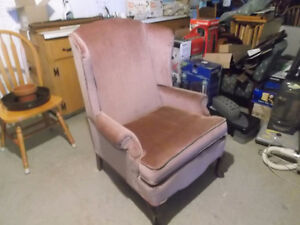 WINGBACK/OCCASIONAL/ACCENT CHAIR