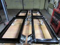 4 x Garage Dolly Skates (ideal for car restoration)