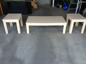 coffee Table/2 End Tables