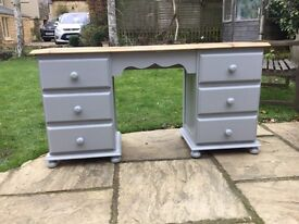 Attractive Pine Dressing Table / Desk