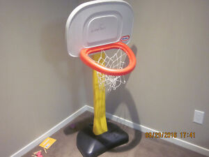 Nice Basket Ball Post for Kids Exercise. In good condition. Edmonton Edmonton Area image 1