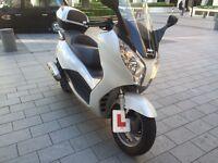 Honda S wing ,125cc , 2014 white colour