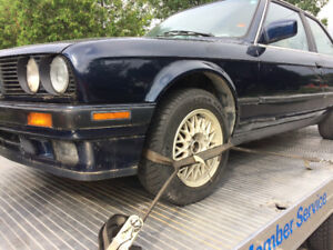 BMW e30 325is AUTOMATIC fully loaded NEEDS SOME WELDING coupe!!!