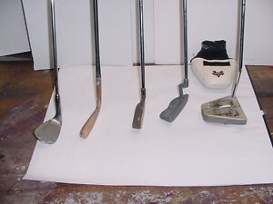 WEDGE, PUTTERS