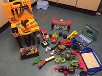 Bundle of nice toys for kids boy VGC only £30