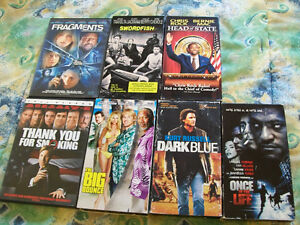 (ATTENTION! LOOK) 2 DVDS & 5 VHS LOT FOR SALE,ALL IN GOOD SHAPE.