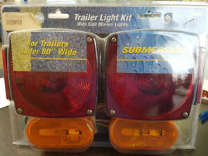 Trailer Lights Kit w/ Side Markers