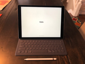 "iPad Pro 12.9"" (32GB) with Apple Keyboard and Apple Pen"