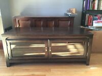 *PRICE DROP!* TV stand with 2 cabinet