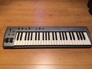 M-Audio Keystation 49I (controller and audio interface) with usb