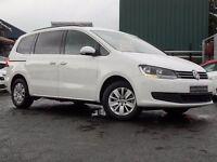Volkswagen Sharan 2.0 TDI BlueMotion Tech SE 5dr (start/stop) (white) 2015
