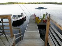 Clean Weed Free Waterfront Cottage, Perth, Ontario