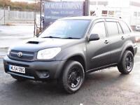 Toyota RAV4 2.0 D-4D, 2004, 57000 Miles,Matt Carbon Black, 6 Months AA Warranty