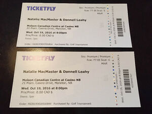 Natalie MacMaster & Donnell Leahy - Moncton October 19