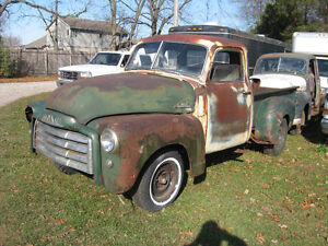 Western 1949 GMC 5 window project truck, sell trade London Ontario image 2