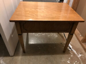 Wooden Side Table or Desk - $20 OBO