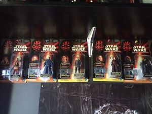 Star Wars collectible action figures