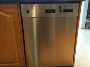 Used SS Bosch Dishwaser - free to good home