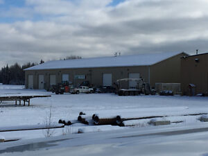 Commercial bays for rent in Edson