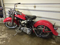 1957 Harley Davidson Panhead FLH Rolling Chassis