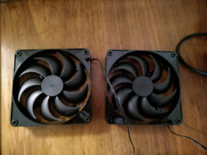 2 140mm Rosewill fans