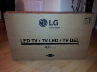 "Lg 43"" led tv"
