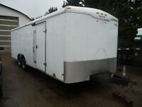 2007 Haulmark 8x24 Enclosed Trailer